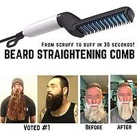 Peine alisador de barba Petano 2019, multifuncional, rizador de pelo para hombres