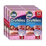 Huggies DryNites Pyjama Pants for Girls, Age 8-15 - 54 Pants Total