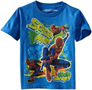 Marvel Boys' Spider-Man Fun Splash Short-Sleeve T-S
