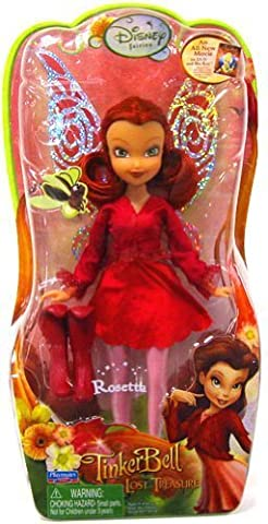 Disney Fairies Tinkerbell and The Lost Treasure 8 Rosetta Doll by Playmate