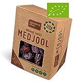 1 kg Medjool dattes biologique, taille moyenne classique