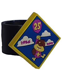 Beaver 25th Anniversary PVC Woggle - Official Scout Product