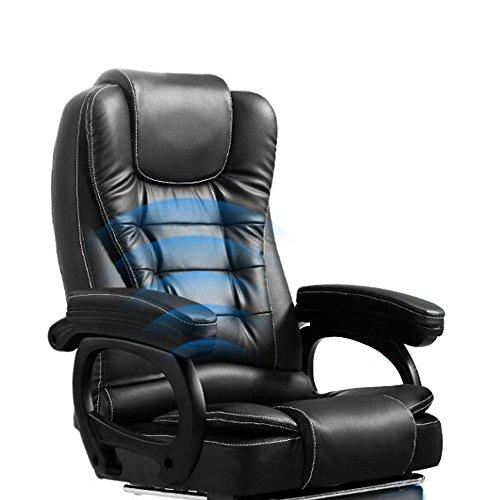 Haobase Schwarz Bürostuhl Chefsessel Bürodrehstuhl Mit Massage