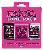 Cordes guitare électrique Ernie Ball Super Slinky p03333ton Lot