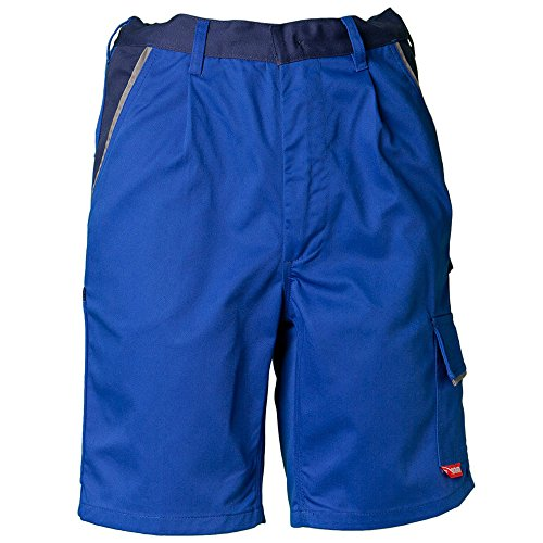 Planam Shorts Highline, Größe XL, kornblau / marine / zink, 2370056