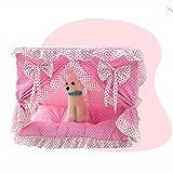 Prinzessin Spitze hundebett weiches Sofa für kleine Hunde Spitze welpen Haus pet Doggy bettwäsche cat hundebetten Luxus Nest Matte
