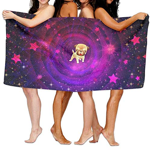 XCVNBX Infant Bath Towels, Cute Dog Space Stars Purple Light, Oversized Foot Best Bath Towel Beach Towels for Kids, Bath Set Bathroom Accessories - Grau Infant Baseball