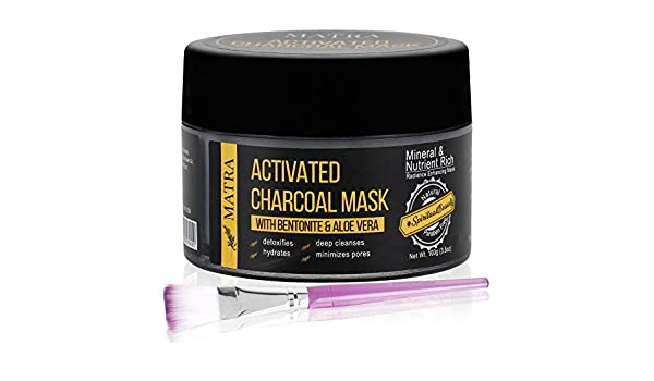Aloe Vera Matras : Buy matra naturals activated charcoal mask with bentonite and aloe