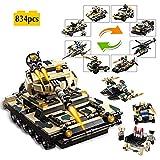 TTGE 8 in 1 Kind Bausteine Puzzle-Montage Modellspielzeug 834pcs
