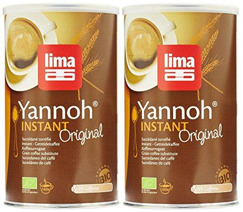 Lima Bio Yannoh Café instantané 250 g - Lot de 2