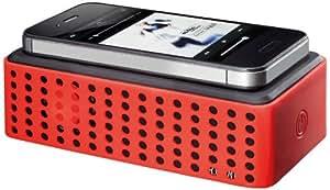 R.O.GNT 1201.89.21 Enceinte portable Noir/Rouge