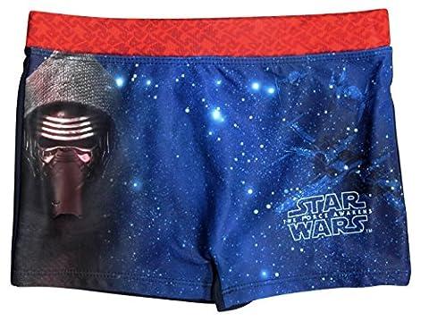 Star Wars Kollektion 2017 Badeshorts 116 122 128 134 140 146 Jungen Sommer Badesachen Badehose Schwimmsachen Stormtrooper Darth Vader (128 - 134, Rot)