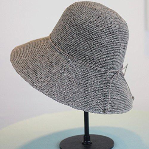 Chapeau De Pêche à La Main à La Main à La Main Lady Summer Foldable Sun Hat A5