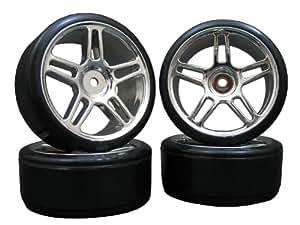 4x Onroad Drift pneus + jantes 1/10 Custom Pimp Style FR31 !! Livraison gratuite