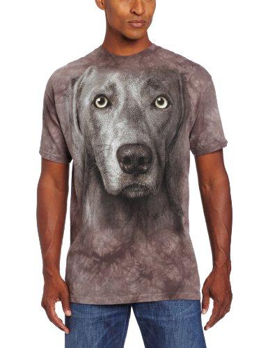 The Mountain Männer Weimeraner T-Shirt Grau