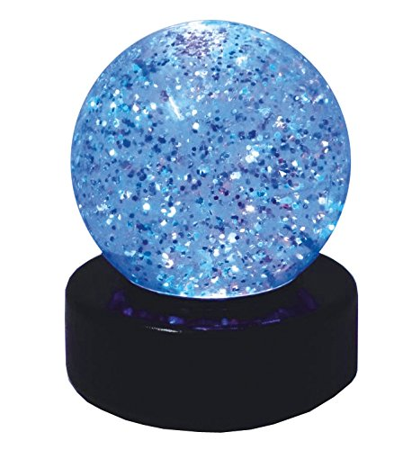 Mann Lava Kostüm - Pfiffikus von Kuenen Glitter-Ball LED-Leuchte 10490