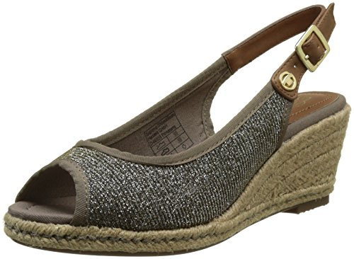 Tom Tailor 2790902, Cinturino Posteriore Donna Marrone (Bronze)