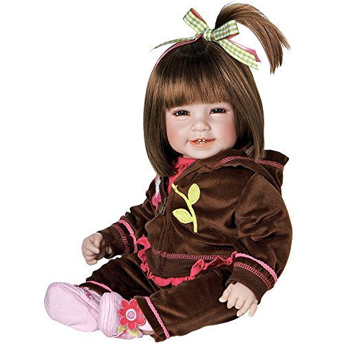 Adora Baby Doll 20 inch Workout Chic Brown Hair/Brown Eyes