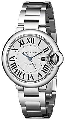 Cartier Women's W6920071 Analog Display Automatic Self Wind Silver Watch