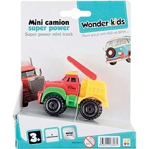 WDK Partner - Camión de Juguete (13.5x10.5x6 cm) (A1300051) (Surtido, Modelos aleatorios)