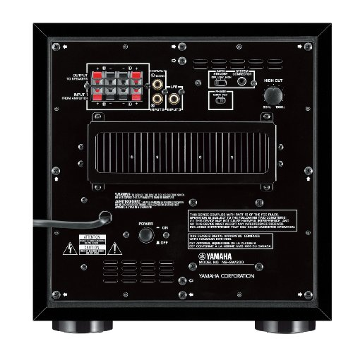 51 YbXvKqEL. SS500  - Yamaha NSSW200 Powered Subwoofer - Black