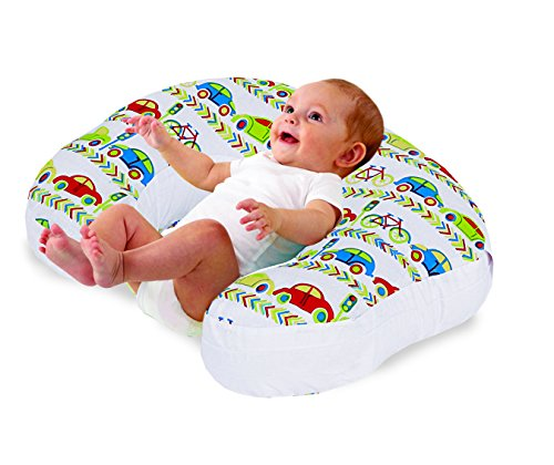 Love2Sleep BABY FEEDING/ NURSING PILLOW HOLLOWFIBRE FILLED FOR COMPLETE SUPPORT: CARS AND BIKES