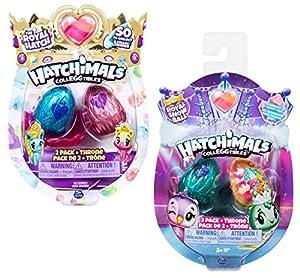 Spin Master Hatchimals CollEGGtibles 2 Pack + Nest - Season 6 - Kits de Figuras de Juguete para niños (5 año(s))