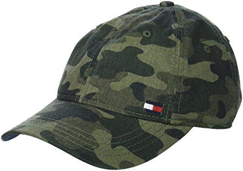Tommy Hilfiger Herren Dad Hat Billy Corner Flag Baseball Cap, Camouflage, Einheitsgröße