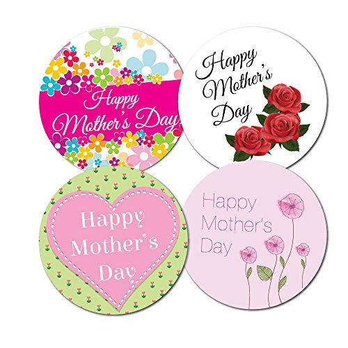 happy-mothers-day-stickers-4-designs-per-pack-30mm-crafts-cards-shops-144-in-pack
