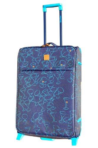 Saxoline Maleta, Cocktail Trolley 63cm, 63 cm, azul – azul, 3A140
