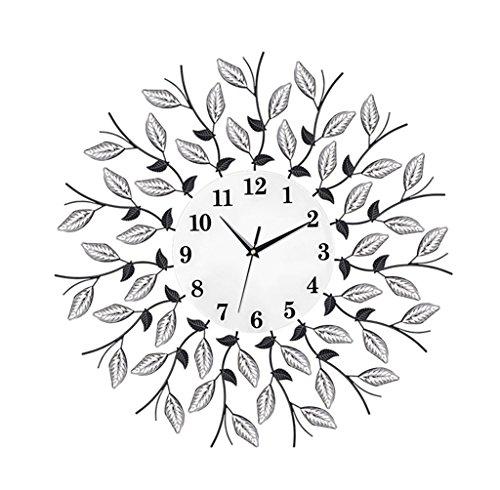 3D Salon Nordique Créatif Horloge Murale Personnelle Horloge à Domicile Chambre Mute Horloge à Quartz (Chiffres Arabe) ( taille : 60 cm )