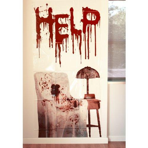 Horror Wand Deko Schocker Poster Folie