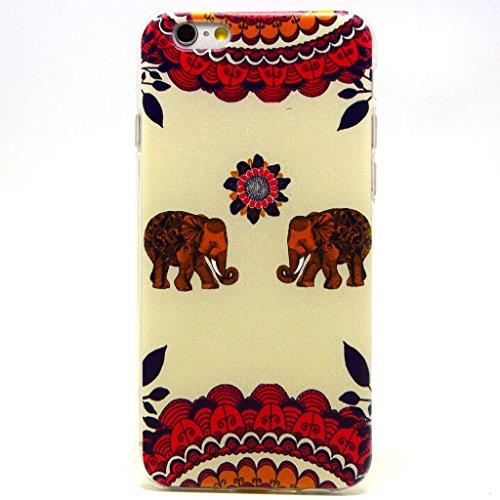 iPhone 6(11,9cm) Coque souple en TPU, yaobaistore Coque de protection en TPU pour Apple iPhone 6(11,9cm) Étui souple en silicone gel