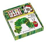 Die kleine Raupe Nimmersatt. Pappbilderbuch mit Holzpuzzle im Set