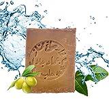 Carenesse Aleppo Seife 60% Olivenöl 40% Lorbeeröl ca. 200 Gramm, original Olivenölseife Haarseife...