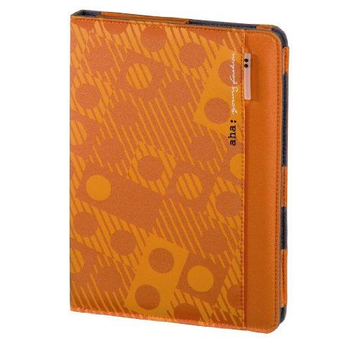 aha: Lenni Portfolio Case für Samsung Galaxy Tab 10.1/10.1N/Tab 2 10.1 orange