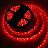 Striscia LED 300 LED SMD 5050 Rosso Luce Di Striscia Flessibile Impermeabile Del LED,Confezione da 16.4ft / 5m