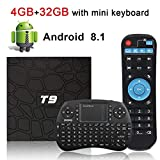 Android 8.1 TV Box Superpow T9 with Mini Wireless Keyboard 4GB RAM 32GB