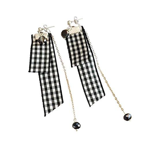 Boucles d'oreilles faciles à assortir Style Fashion Boucles d'oreilles longues, 1 paire