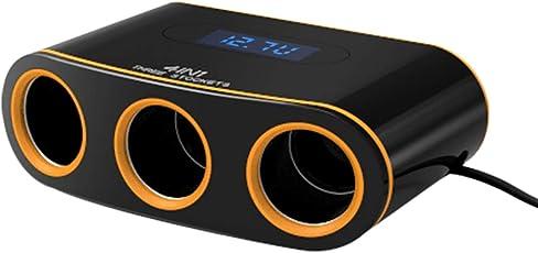 Vosarea Dual USB 3 Sockets Spannung Anzeige Ladegerät Zigarettenanzünder Adapter Buchse Splitter Converter Power Adapter