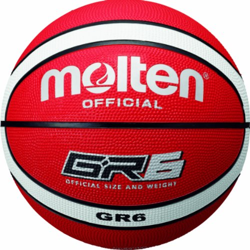 Molten Basketball, Orange/Weiß, 6, BGR6-RW