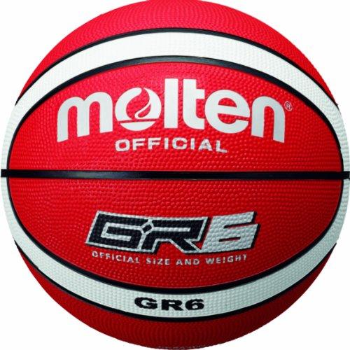 molten Basketball, Orange/Weiß, 6, BGR6-RW