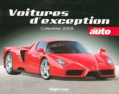 CALENDRIER 2008 VOITURES D'EXCEPTION