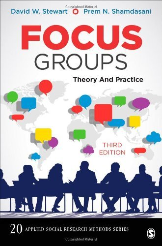 Focus Groups: Theory and Practice (Applied Social Research Methods) by David W. Stewart (2014-03-20)