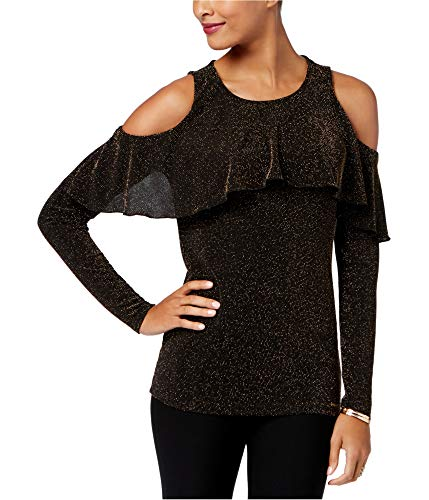 Michael Kors Womens Cold Shoulder Pullover Sweater