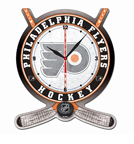 NHL High Definition Plaque Clock Philadelphia Flyers