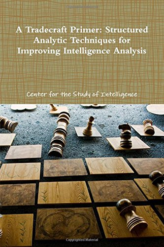 A Tradecraft Primer: Structured Analytic Techniques for Improving Intelligence Analysis