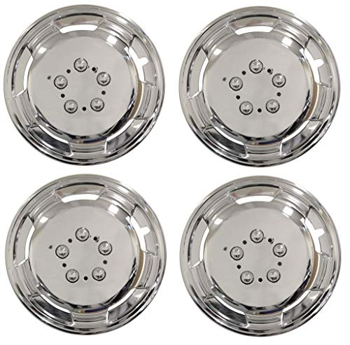 UKB4C 4x 15 Inch Deep Dish Van Wheel Trims Hub Caps For Ford Transit Courier