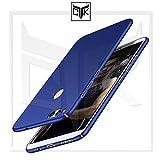 #3: TheGiftKart Honor 7X Back Cover Case - Premium Ultra Slim 360* Matte Velvet Feel Hard Back Cover - Metallic Blue