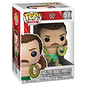 WWE Figura Vinilo Jake The Snake Roberts posible Chase 51 Figura de coleccin